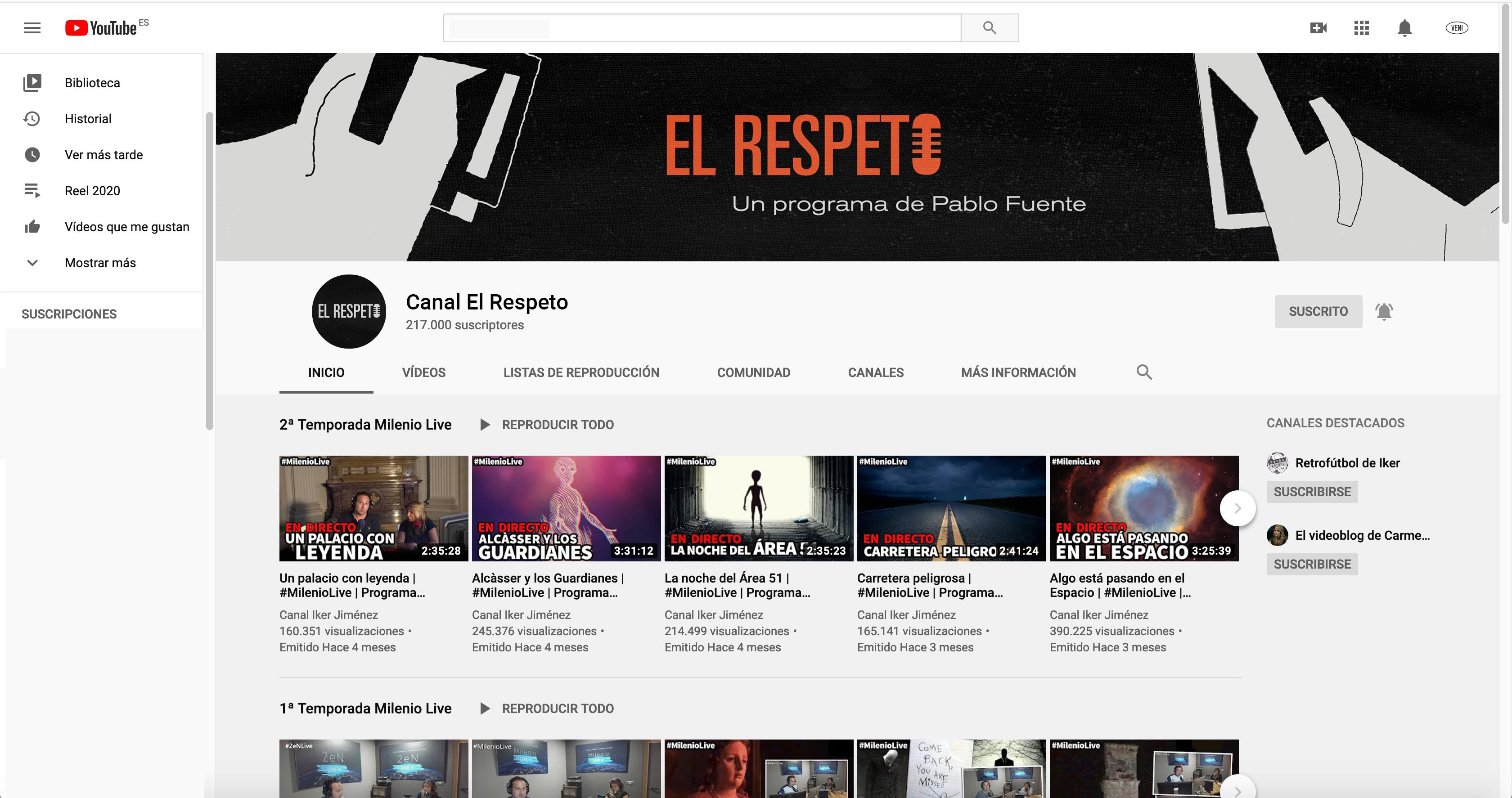 ELRESPETO_redessociales_youtube